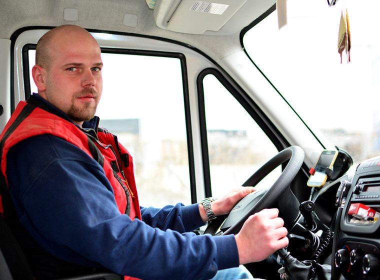 Řidič dodávky sk.B