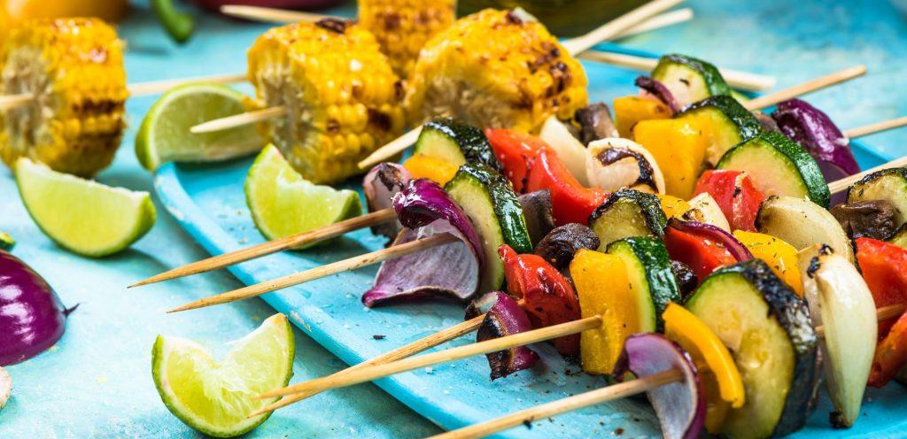 Nejenom vegetarián si smlsne: grilovaná zelenina a ovoce!